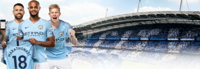 Patrocinio con el Manchester City