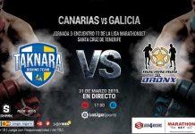 Velada de Boxeo en Tenerife Taknara - Guerreros del Bronx