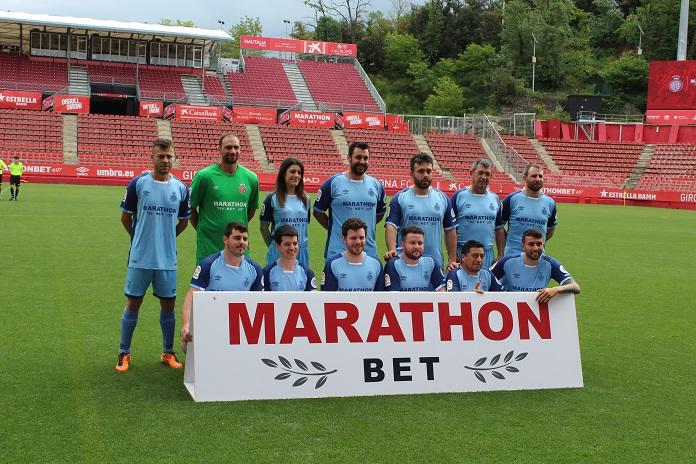Experiencia en Montilivi equipo azul
