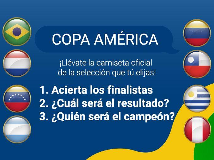 Camiseta Gratis Copa América