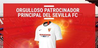 Patrocinador Principal del Sevilla Marathonbet