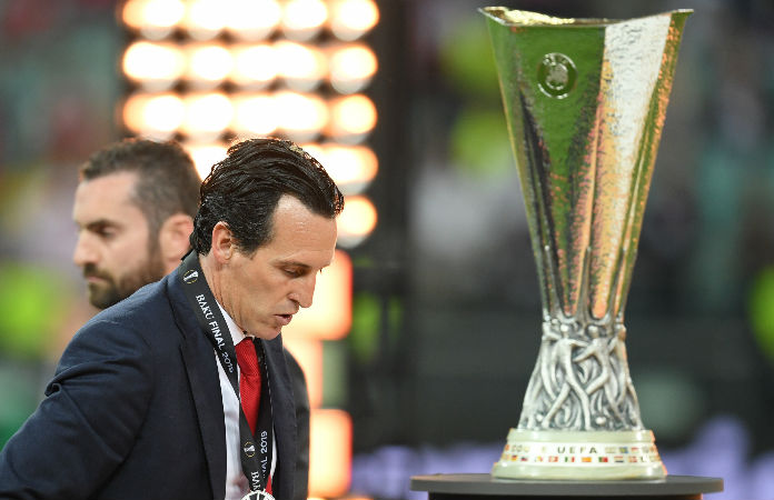 Unai Emery - Europa League