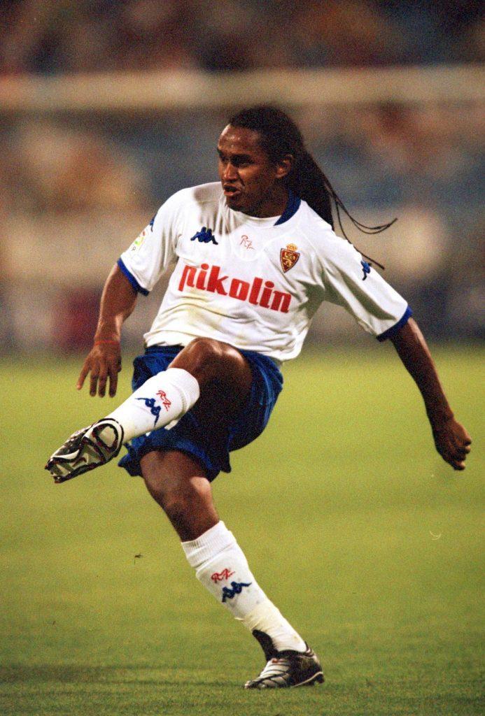 Esquerdinha, jugador brasileño de la historia del Zaragoza