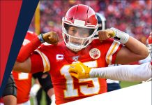 Kansas City Chiefs Mahomes
