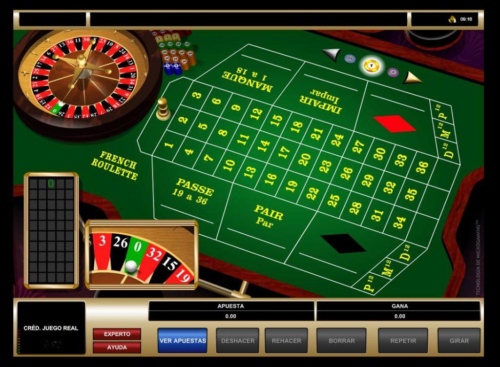 Ruleta Francesa - Casino